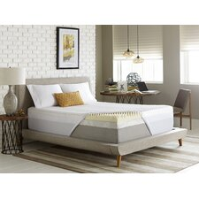 "Simmons Reversible 4"" Memory Foam Mattress Topper"
