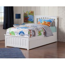 Gail Platform Bed with Trundle