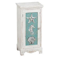 Southampton Coastal Icons 1 Door Cabinet by Beachcrest Home