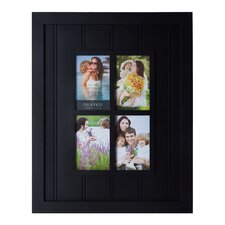 4 opening slat window plastic collage picture frame
