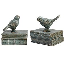 Songbird Bookends