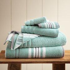 Racer Stripe 6 Piece Towel Set