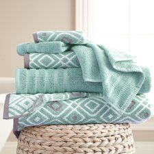 Adult 6 Piece Towel Set