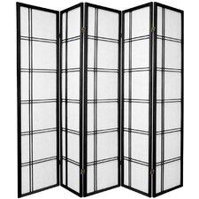 """70"""" x 70"""" Boyer 5 Panel Room Divider"""
