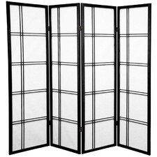60 x 56 Boyer 4 Panel Room Divider by Mistana