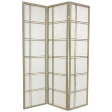 70 x 42 Boyer 3 Panel Yellow Room Divider by Mistana