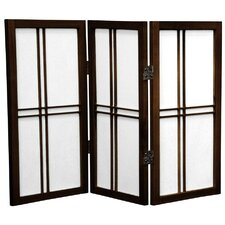 Leiva 26 x 30 3 Panel Room Divider by Bungalow Rose