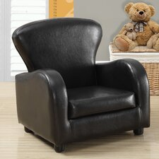 Look Juvenile Kids Faux leather Club Chair