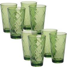 Diamond Acrylic 20 Oz. Water/Juice Glass (Set of 8)