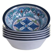 Talavera Heavy Weight Melamine Salad Bowl (Set of 6)