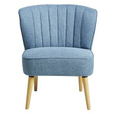 Corkey Middle Slipper Chair by Langley Street
