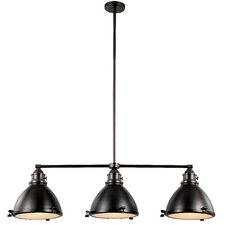Dewey 3-Light Kitchen Island Pendant