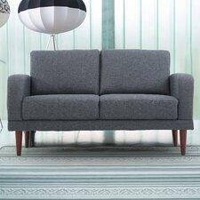 Linen Upholstered Loveseat