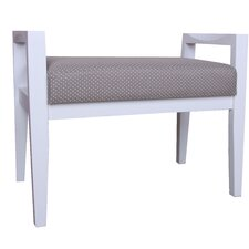Wood Upholstered Entryway Bench by Porthos Home
