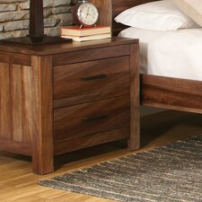 Dabrowski 2 Drawer Nightstand by Mercury Row