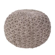 Carin Solid Pouf Ottoman by Bungalow Rose