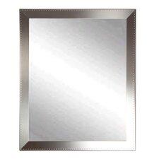 Embossed Steel Wall Mirror