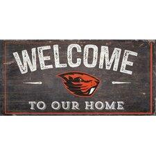 NCAA Welcome Wall Décor