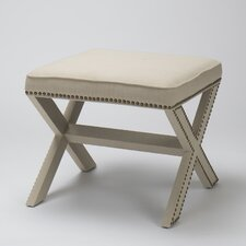 Luna Ottoman by The Bella Collection