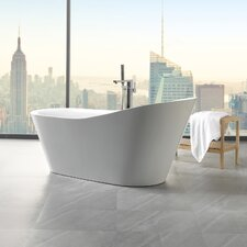 Arges 70.8 x 32 Freestanding Soaking Bathtub by ANZZI