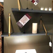 Wooden/Metal Floating Shelf by Teton Home
