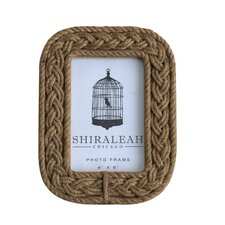 quick view braided rope picture frame