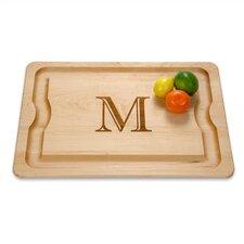 "BBQ Cutting Board, 24"" x 16"" Monogrammed"