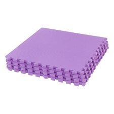 Interlocking Foam Floor Mat (Set of 4)