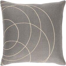 Bold Wool Throw Pillow