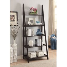 Linden 72 Leaning Bookcase by Homestyle Collection