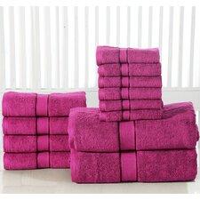 600 GSM Egyptian Quality Cotton 12 Piece Towel Set