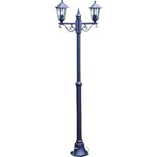 Victorian 2 Light 200cm Post Lantern Set