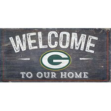 NFL Welcome Wall Décor