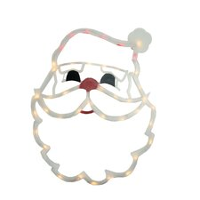 Lighted Santa Claus Face Christmas