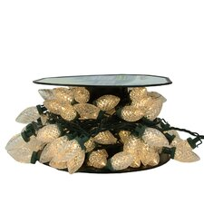 100 Piece Commercial Length LED Faceted C9 Christmas Light on Spool Set
