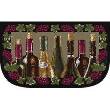 Quick View Wine Bottle Slice Kitchen Mat