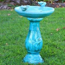 Ceramic Antique Birdbath
