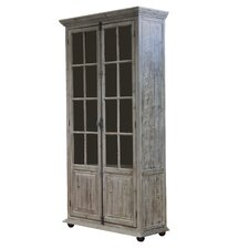 Syracuse Glazed 2 Doors Accent Cabinet by MOTI Furniture