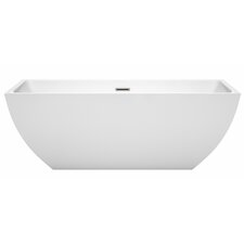 Rachel 67 x 29.5 Freestanding Soaking Bathtub by Wyndham Collection