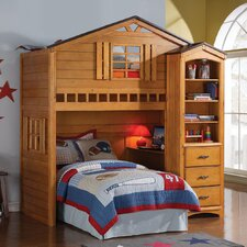 Tree House Rustic Oak 78 Standard Bookcase by ACME Furniture