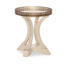Deverel Gallery End Table by World Menagerie