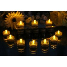 Underwater Submersible LED Pool Party and Pond Flameless Candle (Set of 10)
