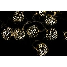 10 Light LED Heart Novelty String Light