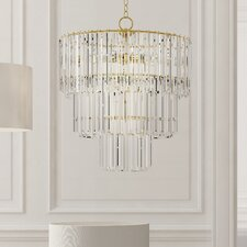 Mormont 9-Light Crystal Chandelier