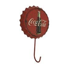 Coca Cola Metal Sign Cloth Hanger