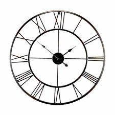 Brooklyn Oversized 80cm Metal Wall Clock