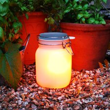 1 Light LED Yellow Sun Jar Light