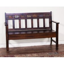 Fresno Wood Storage Entryway Bench by Loon Peak