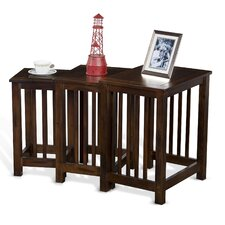 Fresno 3 Piece Nesting Tables by Loon Peak