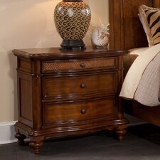Bernadine 3 Drawer Nightstand by Darby Home Co